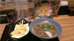 ポテそば食べられる店舗オススメ話題大阪東京