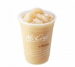 マックマクドナルド桃のスムージー期間限定価格カロリー店舗味口コミ感想