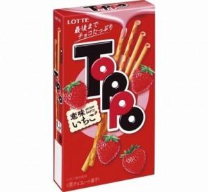 Toppoトッポ恋味いちごカロリー期間いつまで味感想どこで買える