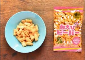 北陸製菓hokkaビーバー白えびオススメお菓子カロリー