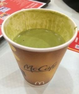 マックマクドナルド抹茶ラテカロリー味感想期間いつまでカフェとの違い比較