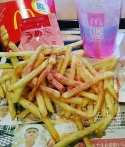 マックマクドナルドシャカシャカポテトうめカロリー味感想期間いつまで