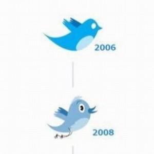 twitterツイッターバードロゴ変更青い鳥歴史デザイン画像
