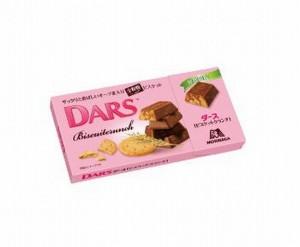 DARSダースビスケットクランチカロリー比較期間いつからいつまで味の感想