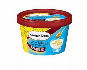 ハーゲンダッツ ミニカップ ハニー&ミルク(ヨーグルト仕立て)味感想カロリー口コミ期間いつまで発売どこでコンビニ