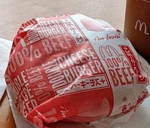 マクドナルドマック裏ダブルチーズバーガーカロリー販売期間味感想口コミ