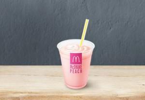 マックシェイクもも桃カロリー味感想期間いつまで比較マクドナルド