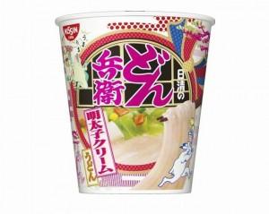日清のどん兵衛明太子クリームうどんカロリー味口コミ発売日価格