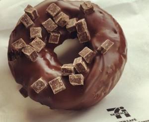 セブンイレブン濃厚ショコラドーナツカロリー販売店舗味感想期間いつまで