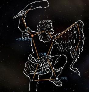 オリオン座流星群2016年10月21日ピーク方角時間