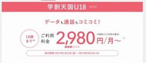 au学割天国料金プラン説明解説2980円条件