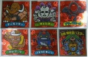 肉リマンチョコ赤コーナー編ラインナップフルコンプシークレット
