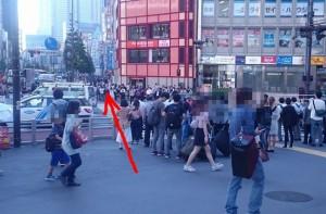 新宿~初台へ徒歩で