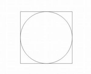 綺麗な円や正方形