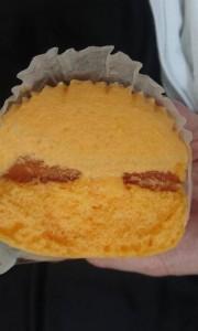 神戸屋夕張メロン蒸しケーキ2