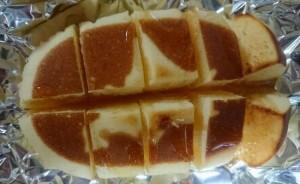 北海道チーズ蒸しケーキアレンジ4