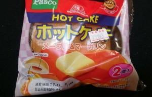 パスコ森永ホットケーキメープル&マーガリン1