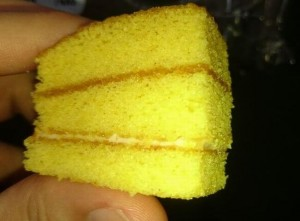 国産小麦のかぼちゃケーキ2
