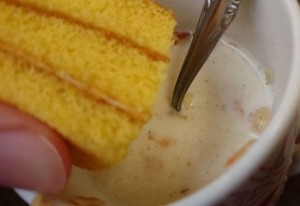 国産小麦のかぼちゃケーキ4