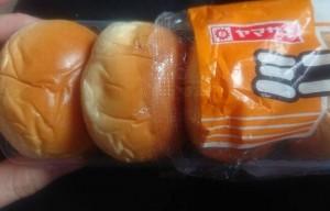 ヤマザキミニクリームパン4
