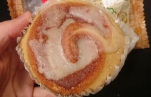 シナモンロールみたいな蒸しケーキ3