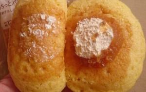 もちっとパンケーキ安納芋あん&ミルクホイップ5