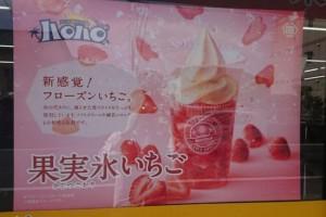 ハロハロ果実氷いちご1
