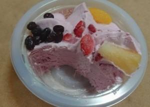 白くまパフェいちご4