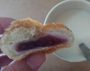 薄皮ブルーベリージャム&ヨーグルト風味クリーム4