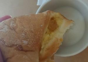 りんごとカスタードのパン5