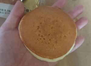 ふわふわホットケーキサンドりんごジャム&ホイップ2