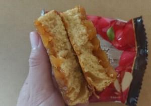 キャラメリゼりんごのケーキ4