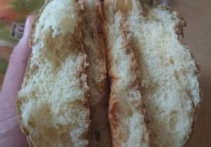 pascoほうじ茶香る栗のメロンパン4