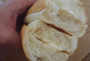 ヤマザキコッペパンりんごバター風味4