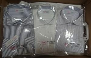綿100%長袖ワイシャツ日本製3枚セット9