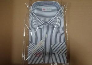 綿100%長袖ワイシャツ日本製3枚セット4