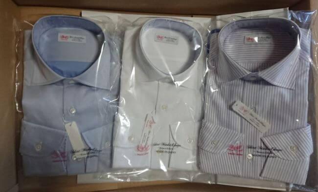 国産ワイシャツ3枚9