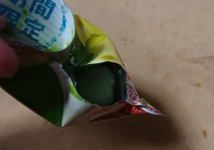 森永「アイスの実 メロン」6